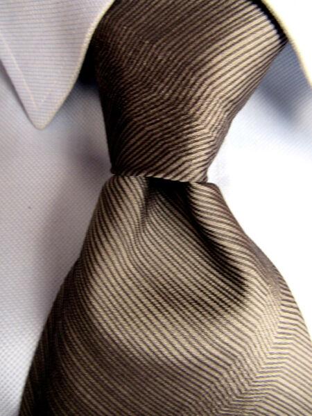 """100% Vero Uomo Calvin Klein """" Collezione """" Grigio Cravatta Di Seta A28472"""