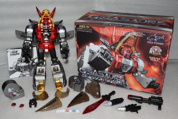 Transformers giocattolo Gigaenergia GP HQ02R Grassor Slag Master Robots In Stock MISB