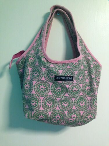 Paisley verde tela Rosa Graphic Authentic Handbag e Design Marimekko Ag8Fqt