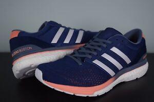 9da8705e33c Details about New Womens Adidas Adizero Boston 6W sz 7-10 US BB6418 Running  shoes White