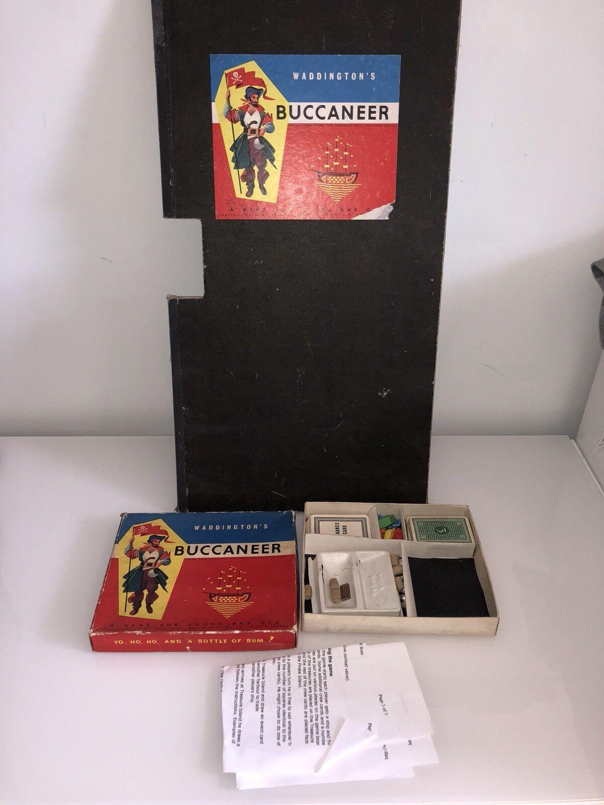 Waddingtons Buccaneer jeu de société vintage ancien monopole monopole monopole d104ec