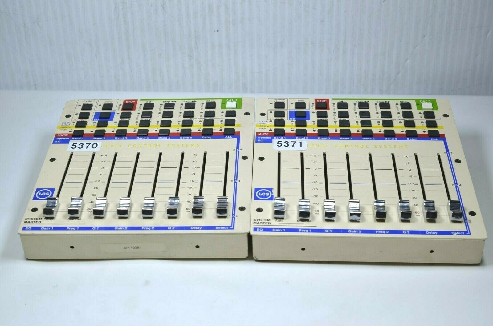 LEVEL CONTROL SYSTEMS CUE MIXER (ONE)