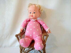 Baby Drowsy Vintage Mattel 1964 Non-Talking Sleepy Doll - Mute