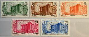 DAHOMEY-1939-115-19-B3-B7-French-Revolution-Bastille-Festung-Fort-Prison-MLH