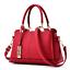 Women-Leather-Handbag-Ladies-Tote-Messenger-Shoulder-Purse-Satchel-Crossbody-Bag miniature 5