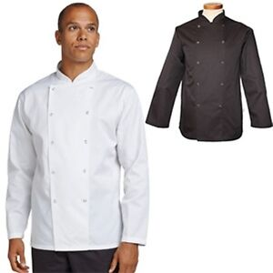Dennys Short Sleeve Chef Jacket Whites XL Embroidery Available if Required