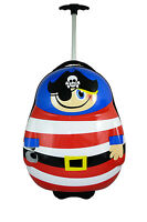 Travel Pals Rolling Luggage 52cm Pirate 1.7kg