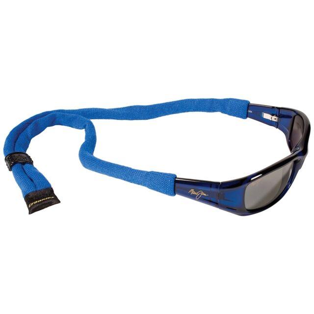 ee50afde1646 Croakies XL Cotton Suiter Eyewear Retainer Royal Blue Adjustable Glasses  Strap