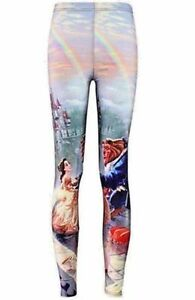 cd075dce2f45f 2017 Beauty And The Beast Leggings Princess Belle Womens Gym Fitness ...