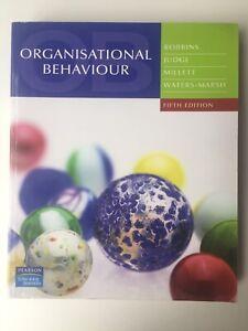 Organisational-Behaviour-By-Robbins-Judge-Millet-amp-Waters-Marsh-5th-Ed-Like-New