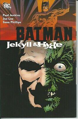 Confiable Batman Jekyll & Hyde Tpb - Dc 2008 ( Comics Usa ) Adecuado Para Hombres Y Mujeres De Todas Las Edades En Todas Las Estaciones