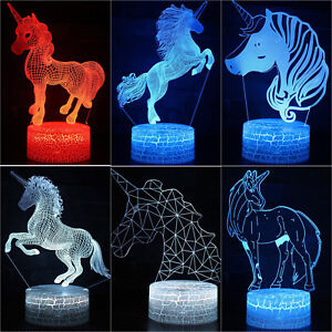 3D-Unicorn-LED-Night-Light-7-Color-Change-USB-Touch-Desk-Table-Lamp-Home-Deocr