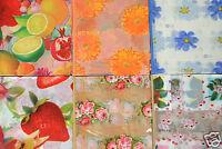 Tischdecke mit Rand Wachstuch Abwaschbar Blumen Rosen PVC 130 cm x 160 cm Neu