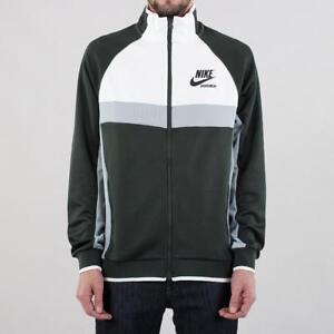 adb4764541c2 NIKE Men s Sportswear Archive NSW Track Jacket - Green Gray Men s ...