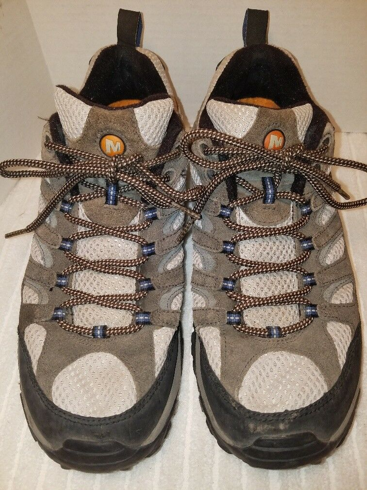 Merrell Men's Moab 2 Vent Hiking shoes Sz 10 Brindle