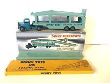 Dinky 982 pullmore Coche transportador con rampa desmontable (en Caja)