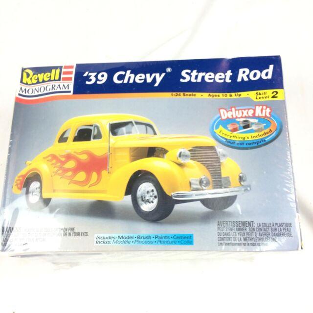 Revell Monogram 1939 Chevy Street Rod 1 24 Scale Plastic Model Kit