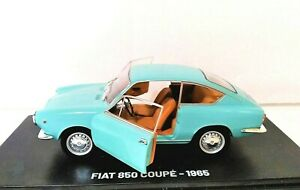 Model-Car-Fiat-850-Coupe-Coupe-Scale-1-24-Diecast-Modellcar-Static-Classic