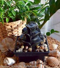 Zen Acqua Fontana Interno Ardesia Feng Shui Relax Decorazione Tavola Casa