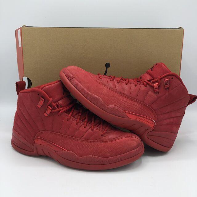 more photos 025e6 3e52f Nike Air Jordan Retro XII Gym Red Chicago Bulls Size 8 130690-601 Playoff  Taxi