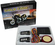 Kit allarme moto scooter anti furto rapina antifurto sensore sirena,telecomandi
