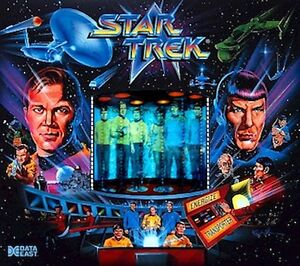Data East Star Trek Pinball CABINET LIGHT (Cab) Mod Pinky-Purple