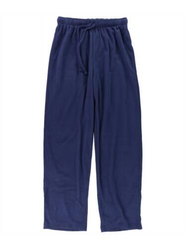 $50 CLUB ROOM Men/'s PAJAMAS PANTS BLUE SOLID FLEECE LOUNGE SLEEPWEAR SIZE XL