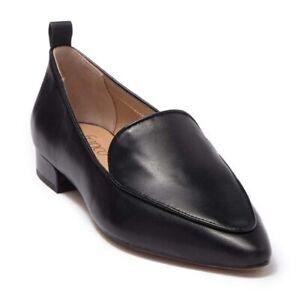 Flat Shoe Leather Black SZ-8