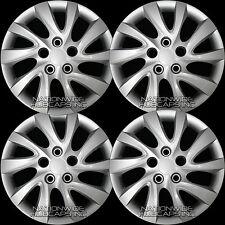 "Set of 4 fits 2011-16 Hyundai Elantra 16"" Bolt On Wheel Covers Full Rim Hub Caps"