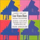 Aaron Copland: Four Piano Blues; George Gershwin: Three Preludes (CD, Mar-1999, Nimbus)