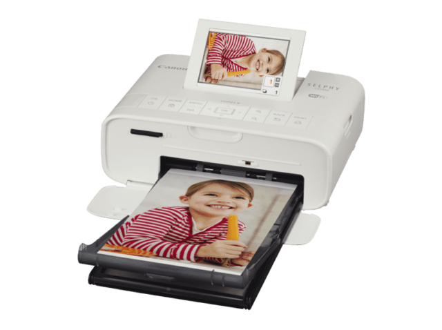 CANON SELPHY CP 1300 Fotodrucker weiß Thermosublimationsdruck