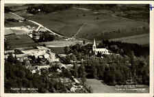 MUNKARP Flygfoto vom Flugzeug aus alte Luftaufnahme Schweden Sverige ~1940/50