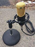 W2eny Desk Or Boom Studio Microphone Fits Icom 718 746 756 7300 7600 7700 7800