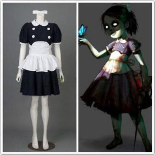 New BioShock Little Sister cosplay costume fancy dress  GG.130