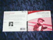 "LIVRE AUDIO 1CD EDITGALLIMARD / "" DICKENS ETC...PHIL DELERM  / LU JP CASSEL /1H"