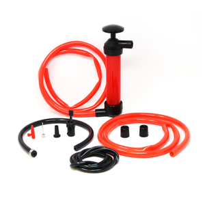 Toolman 3 in 1 Multi-Use Hand Siphon Fuel Transfer Pump Kit with inflation adapt