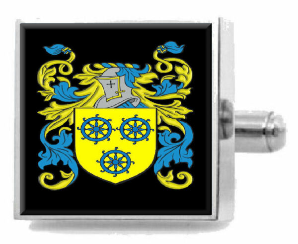 100% QualitäT Finn Schottland Heraldik Wappen Sterling Silber Manschettenknöpfe Graviert Gute QualitäT