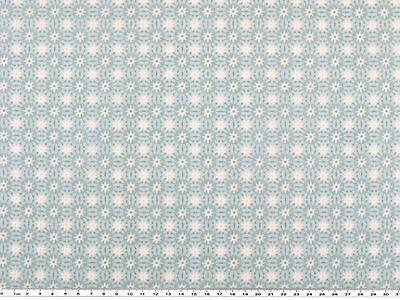 Baumwoll-Druck, Stoff, moderne Blumen, in Pastellfarben, 142-145cm breit