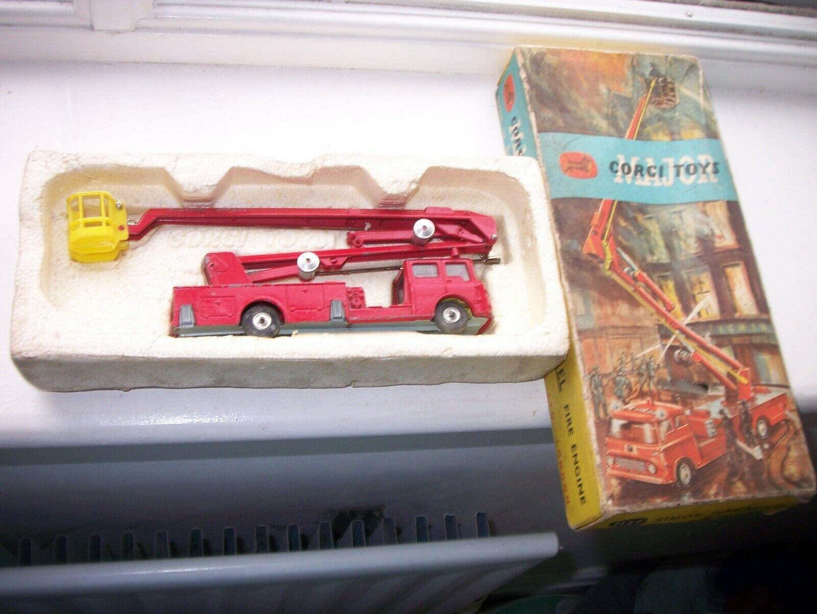 CORGI TOYS MAJOR, Tuba, Fire Engine-Coffret