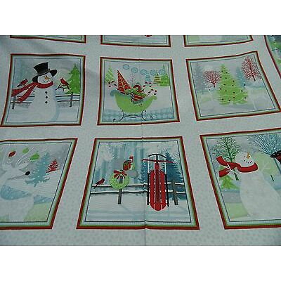 tela patchwork de Navidad all over cada 60 cm x 112 cmBW multicolor