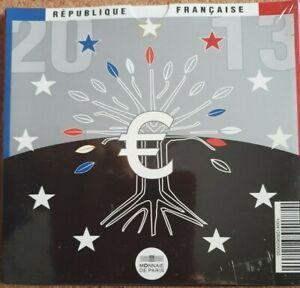 Série FRANCE 8 pièces 2013  -  coffret BU