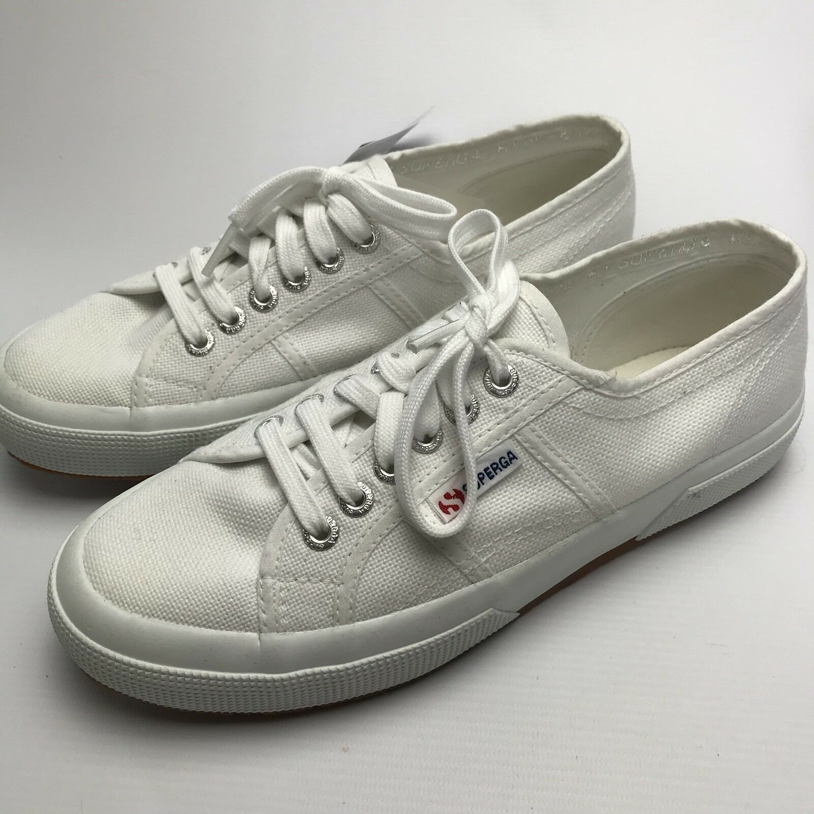 Superga 2750 Cotu Classic Womens White UK Canvas Trainers UK White 6 EUR 39.5 US 8.5 ec165b