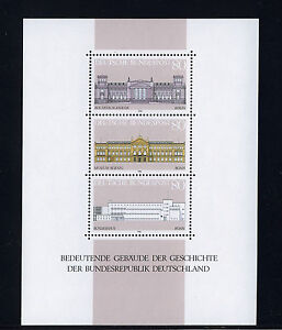 ALEMANIA-RFA-WEST-GERMANY-1986-MNH-SC-1466-Historic-buildings