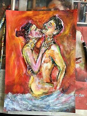 Find Erotiske Malerier I Kunst Og Antikviteter Kob Brugt Pa Dba