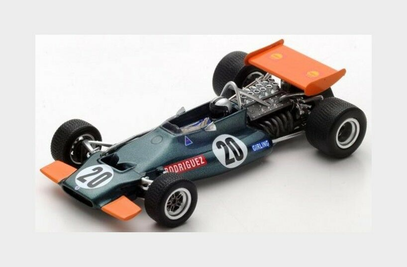 Brm F1 P153  20 South Africa Gp 1970 P.Rodriguez SPARK 1 43 S5276