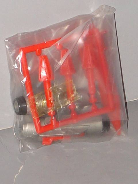 G1 TRANSFORMER DINOBOT SWOOP FACTORY SEALED WEAPONS BAGGIE