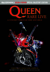 QUEEN-RARE-LIVE-EXPANDED-COLLECTOR-039-S-EDITION-PRESS-2xCD-1xDVD-F-S