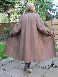 WOMENS-XXL-XXXL-Shearling-Lambskin-Sheepskin-Baby-Lamb-Coat-Jacket-Ladies-B4102