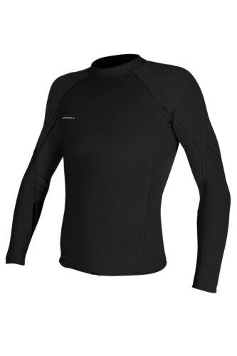 O Neill Hyperfreak 1.5mm L//S Wetsuit Jacket A00-Black-Black XXL
