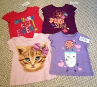 Childrens Place Girl Short Sleeve Clothing Lot Size 6-9 Months
